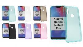 TPU-deksel for Xiaomi Redmi Note 6 Pro