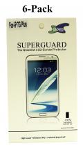 6-pakning Skjermbeskyttelse iPhone 7 Plus
