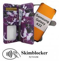 Skimblocker XL Magnet Designwallet Samsung Galaxy A22 (SM-A225F/DS)