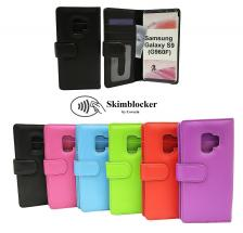Skimblocker Lommebok-etui Samsung Galaxy S9 (G960F)