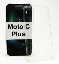Ultra Thin TPU Deksel Moto C Plus