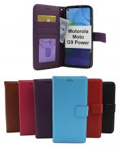 New Standcase Wallet Motorola Moto G9 Power