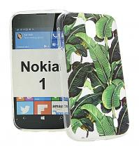 TPU Designdeksel Nokia 1