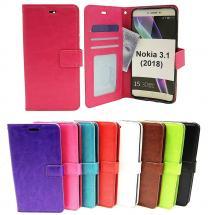 Crazy Horse Wallet Nokia 3.1 (2018)