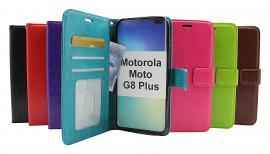Crazy Horse Wallet Motorola Moto G8 Plus