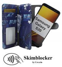 Skimblocker XL Magnet Designwallet Samsung Galaxy S20 (G980F)