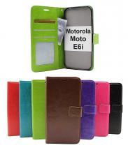 Crazy Horse Wallet Motorola Moto E6i