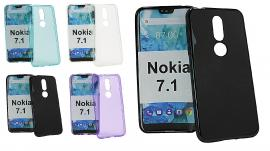 TPU-deksel for Nokia 7.1