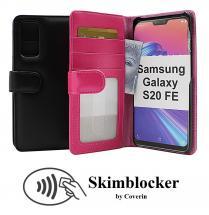 Skimblocker Lommebok-etui Samsung Galaxy S20 FE (G780F)