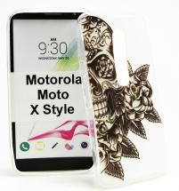 TPU Designdeksel Motorola Moto X Style