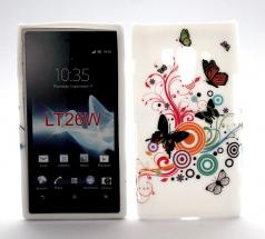TPU Designcover Sony Xperia Acro S (LT26w)