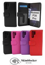 Skimblocker Lommebok-etui Huawei P30 Pro
