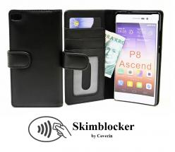 Skimblocker Lommebok-etui Huawei P8 (GRA-L09)