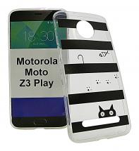 TPU Designdeksel Motorola Moto Z3 Play