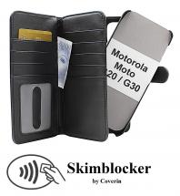 Skimblocker XL Magnet Wallet Motorola Moto G20 / Moto G30