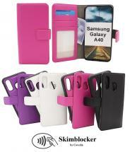 Skimblocker Magnet Wallet Samsung Galaxy A40 (A405FN/DS)