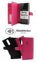 Skimblocker XL Magnet Wallet Sony Xperia 1 (J9110)