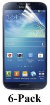 6-pakning Skjermbeskyttelse Samsung Galaxy S4