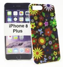 TPU Designdeksel iPhone 8 Plus