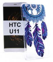 TPU Designdeksel HTC U11