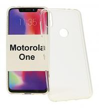 TPU-deksel for Motorola One