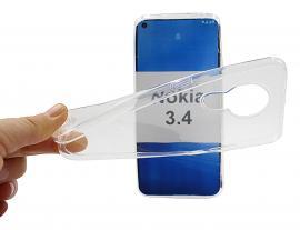 Ultra Thin TPU Deksel Nokia 3.4
