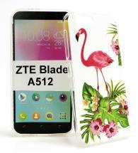 TPU Designdeksel ZTE Blade A512
