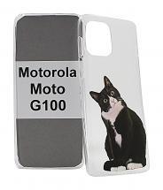 TPU Designdeksel Motorola Moto G100
