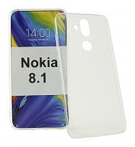Ultra Thin TPU Deksel Nokia 8.1