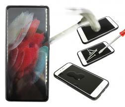 Full Frame Skjermbeskyttelse av glass Samsung Galaxy S21 Ultra 5G (G998B)