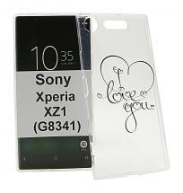 TPU Designdeksel Sony Xperia XZ1 (G8341)