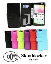 Skimblocker Lommebok-etui ZTE Blade A512