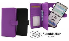 Skimblocker XL Magnet Wallet Huawei P20 Lite