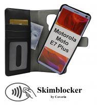 Skimblocker Magnet Wallet Motorola Moto E7 Plus (XT2081-2)