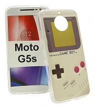 TPU Designdeksel Moto G5s