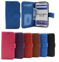 New Standcase Wallet Motorola Moto G 3 LTE (XT1541)