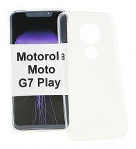 Ultra Thin TPU Deksel Motorola Moto G7 Play