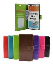 Crazy Horse Wallet Motorola One Hyper