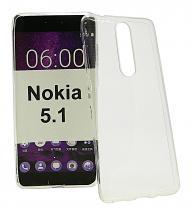 Ultra Thin TPU Deksel Nokia 5.1