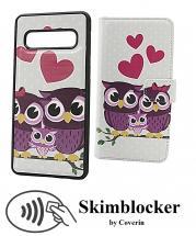 Skimblocker Magnet Designwallet Samsung Galaxy S10 (G973F)