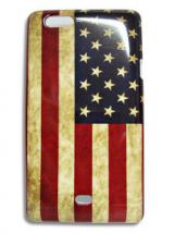 Old USA Hardcase Deksel Sony Xperia Miro (ST23i)