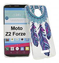 TPU Designdeksel Moto Z2 Force