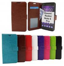 Crazy Horse Wallet Xiaomi Redmi Note 6 Pro