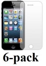 6-pakning Skjermbeskyttelse iPhone 5/5s/SE