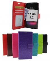 Crazy Horse Wallet Nokia 2.2