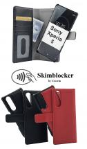 Skimblocker Magnet Wallet Sony Xperia 5