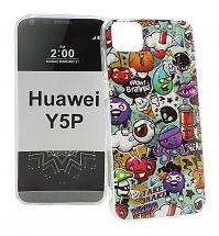 TPU Designdeksel Huawei Y5p