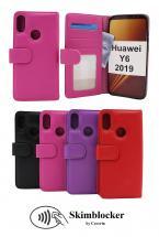 Skimblocker Lommebok-etui Huawei Y6 2019