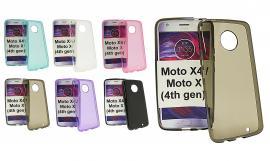 TPU-deksel for Moto X4 / Moto X (4th gen)