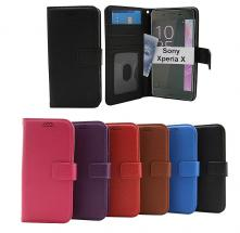 New Standcase Wallet Sony Xperia X (F5121)